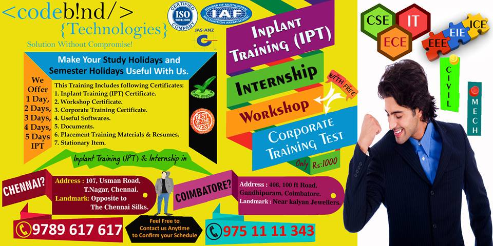 internship in chennai for cse | post free classified ads - free advertising