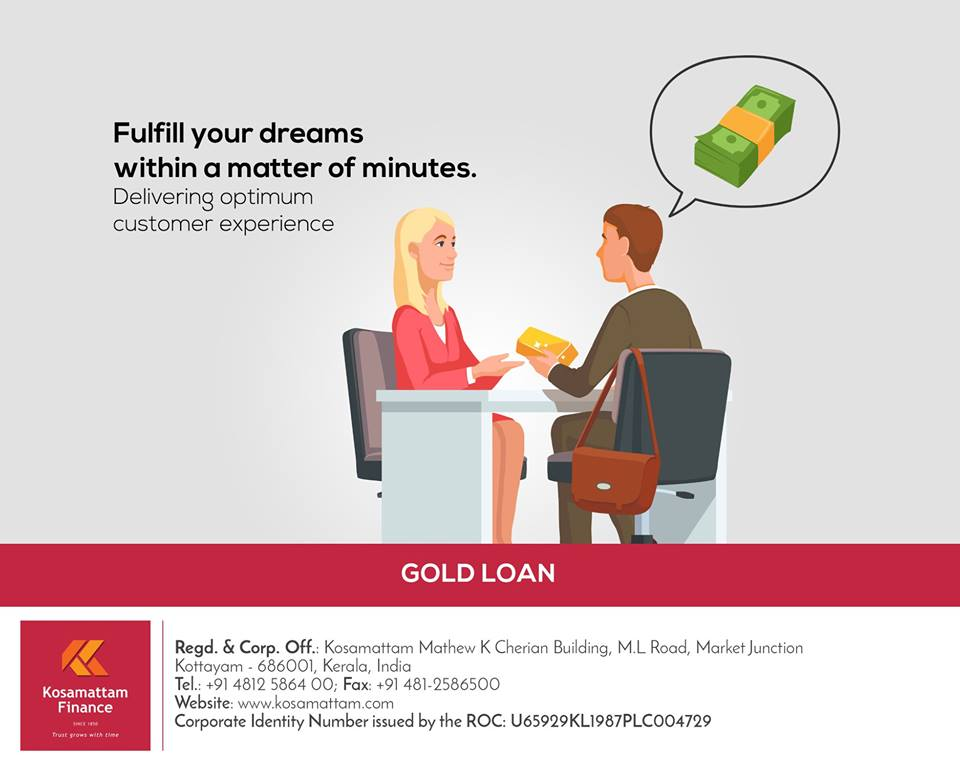 Gold Loan| Gold Loan Interest Rate – Kosamattam Finance | free Classified | Free Advertising | free classified ads