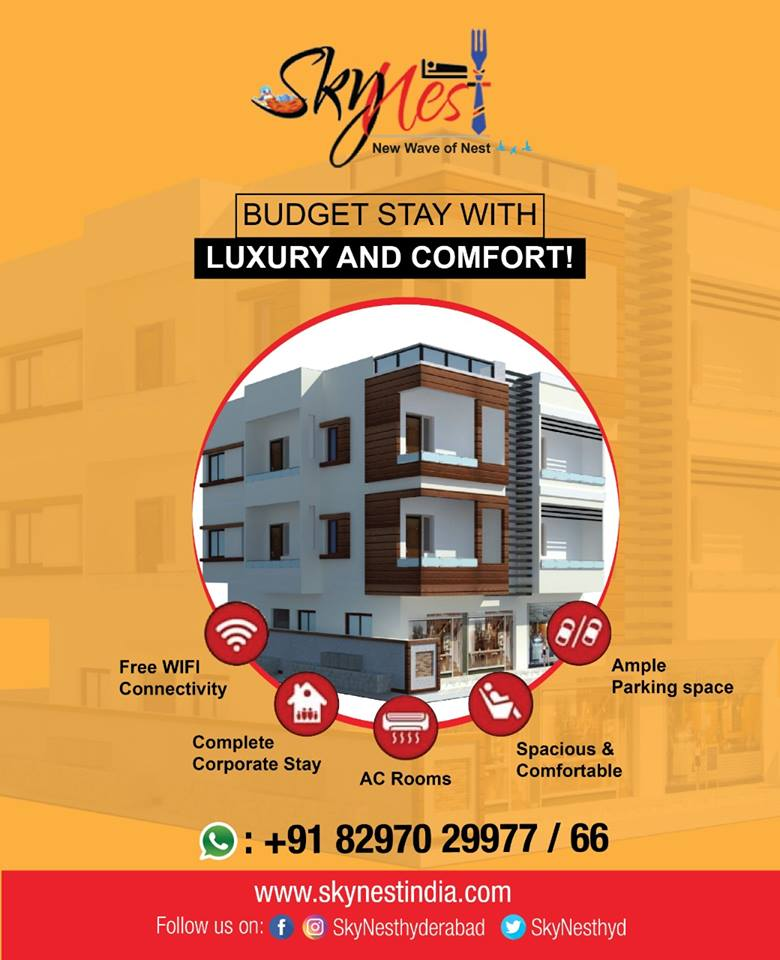 Fully Furnished | Service Apartments in Hyderabad | Skynest Service Apartments | free Classified | Free Advertising | free classified ads
