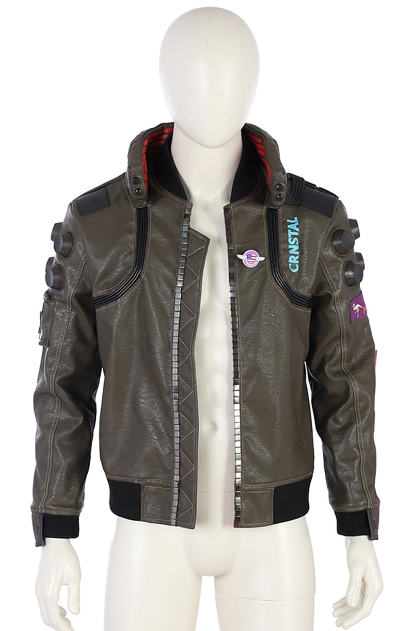 SAMURAI CYBERPUNK 2077 LEATHER JACKET | free Classified | Free Advertising | free classified ads