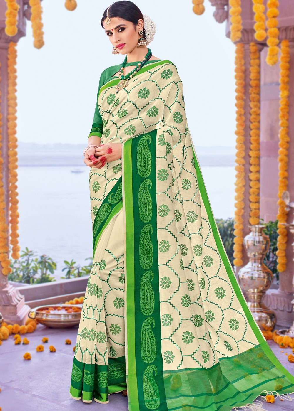 Awesome Chanderi Sarees Online Shopping at Panash India | free Classified | Free Advertising | free classified ads