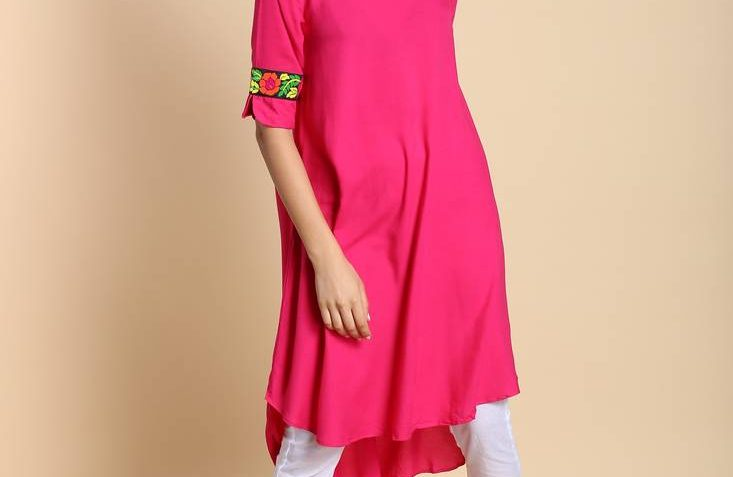 Pink Kurtis Online Shopping At Mirraw | Free Shipping Offer | free Classified | Free Advertising | free classified ads