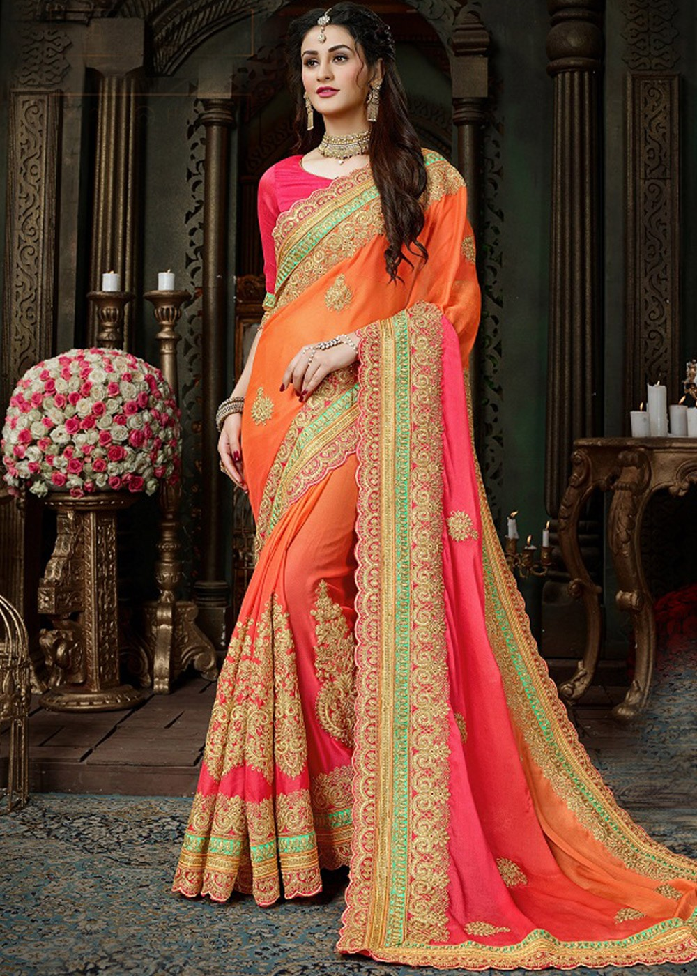 Buy Indian chiffon sarees Online for wedding | free Classified | Free Advertising | free classified ads