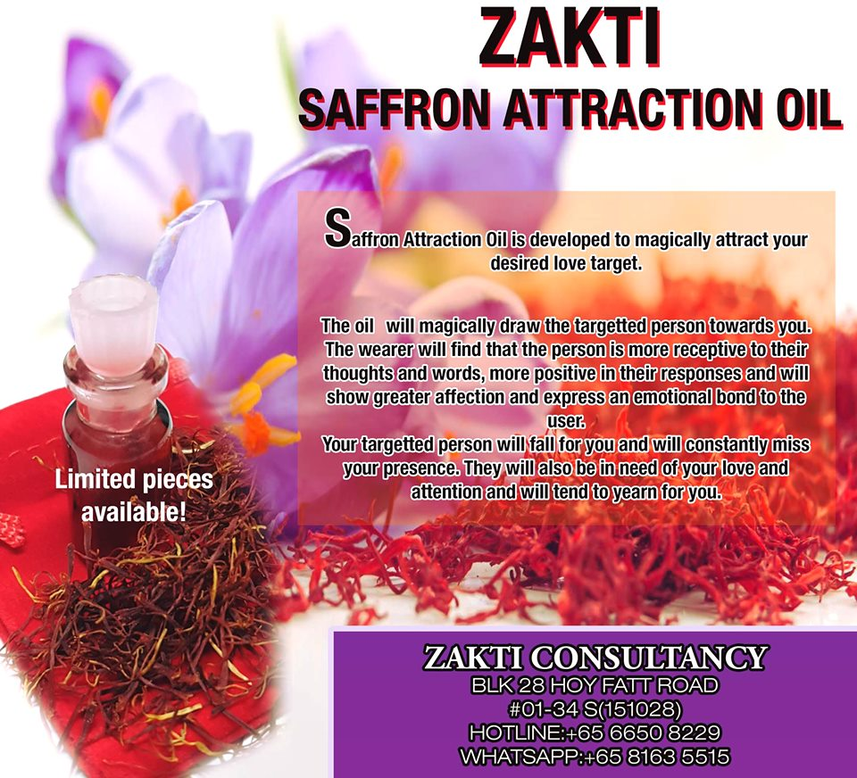 SAFFRON ATTRACTION OIL | free Classified | Free Advertising | free classified ads