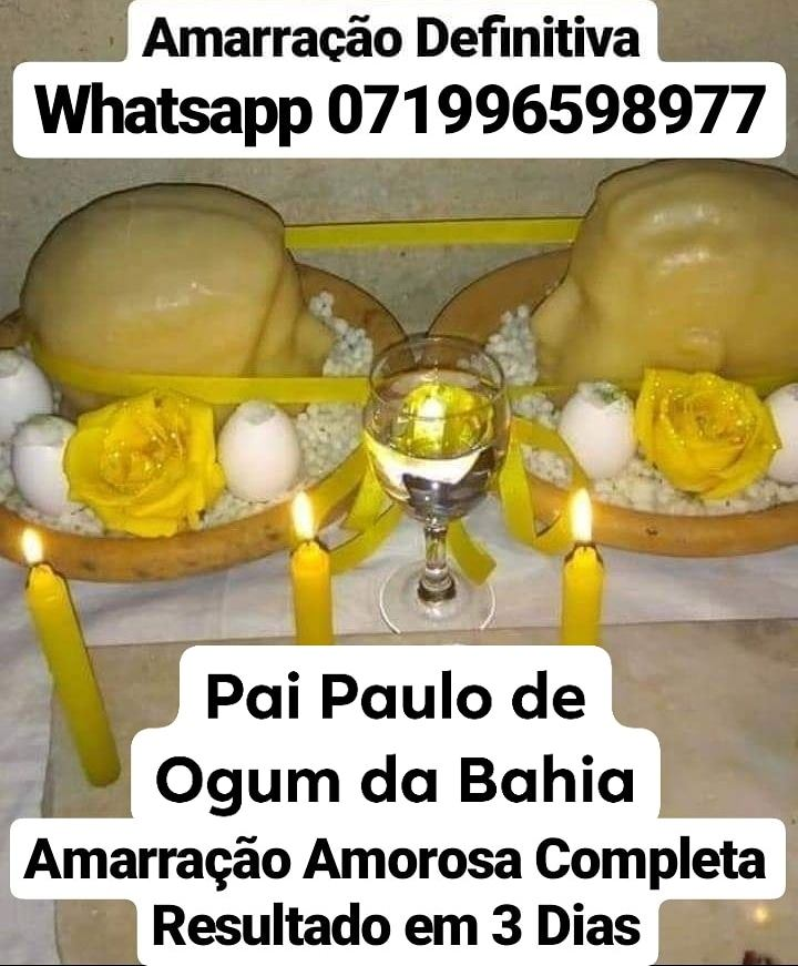 Amarração e Simpatia consulta Tarô e Búzios Whatsapp 071996598977 | free Classified | Free Advertising | free classified ads