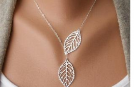 Double Leaves Pendant Necklaces | free Classified | Free Advertising | free classified ads