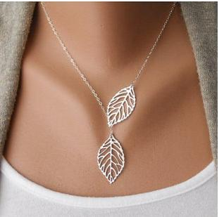 Double Leaves Pendant Necklaces   free Classified   Free Advertising   free classified ads