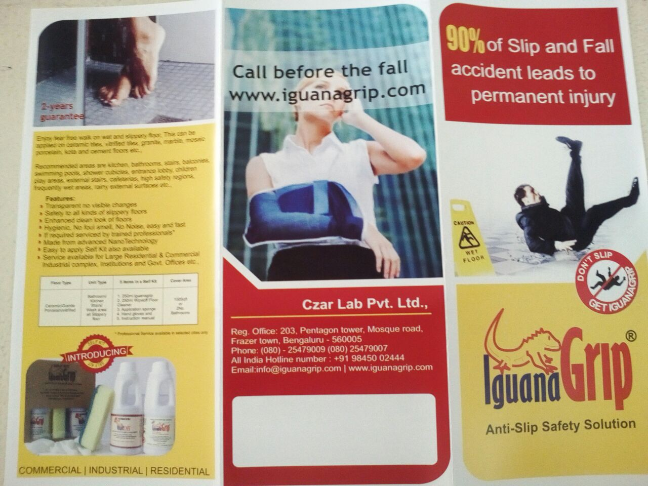 Anti slip safety resistance for floors (IguanaGrip)   free Classified   Free Advertising   free classified ads
