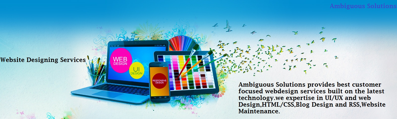 Ambiguous Solutions - website design services provider in India