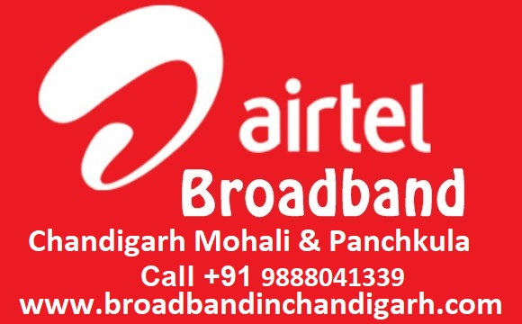 Airtel Broadband chandigarh, Mohali And  Panchkula New Connection | free Classified | Free Advertising | free classified ads