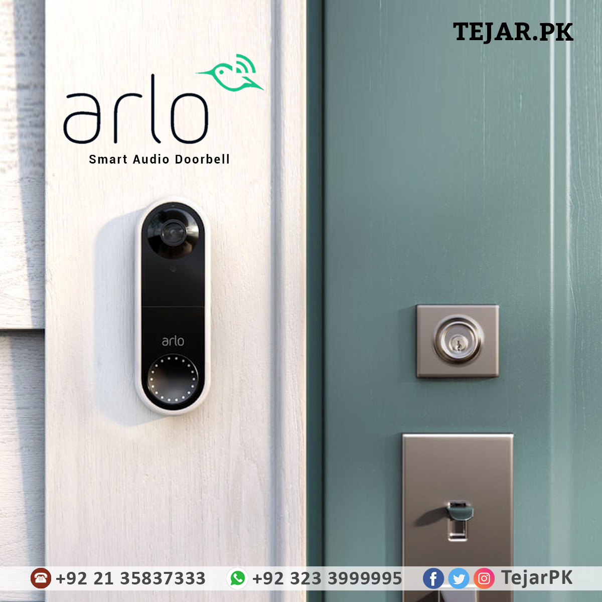 Arlo Smart Audio Doorbell | free Classified | Free Advertising | free classified ads