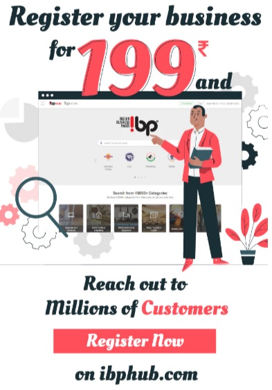 Register your business with IBP HUB at just RS. 199 | free Classified | Free Advertising | free classified ads