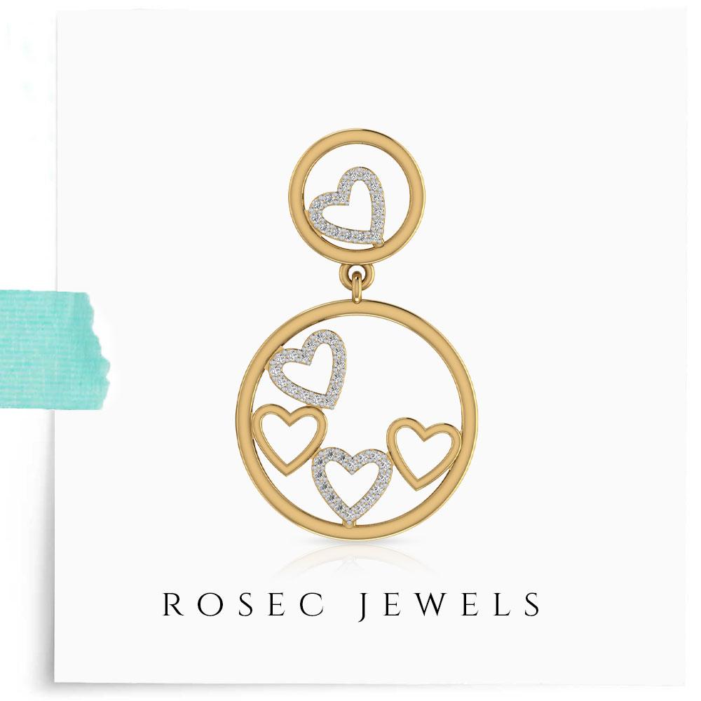 Antique Diamond Drop Earring for Women | free Classified | Free Advertising | free classified ads