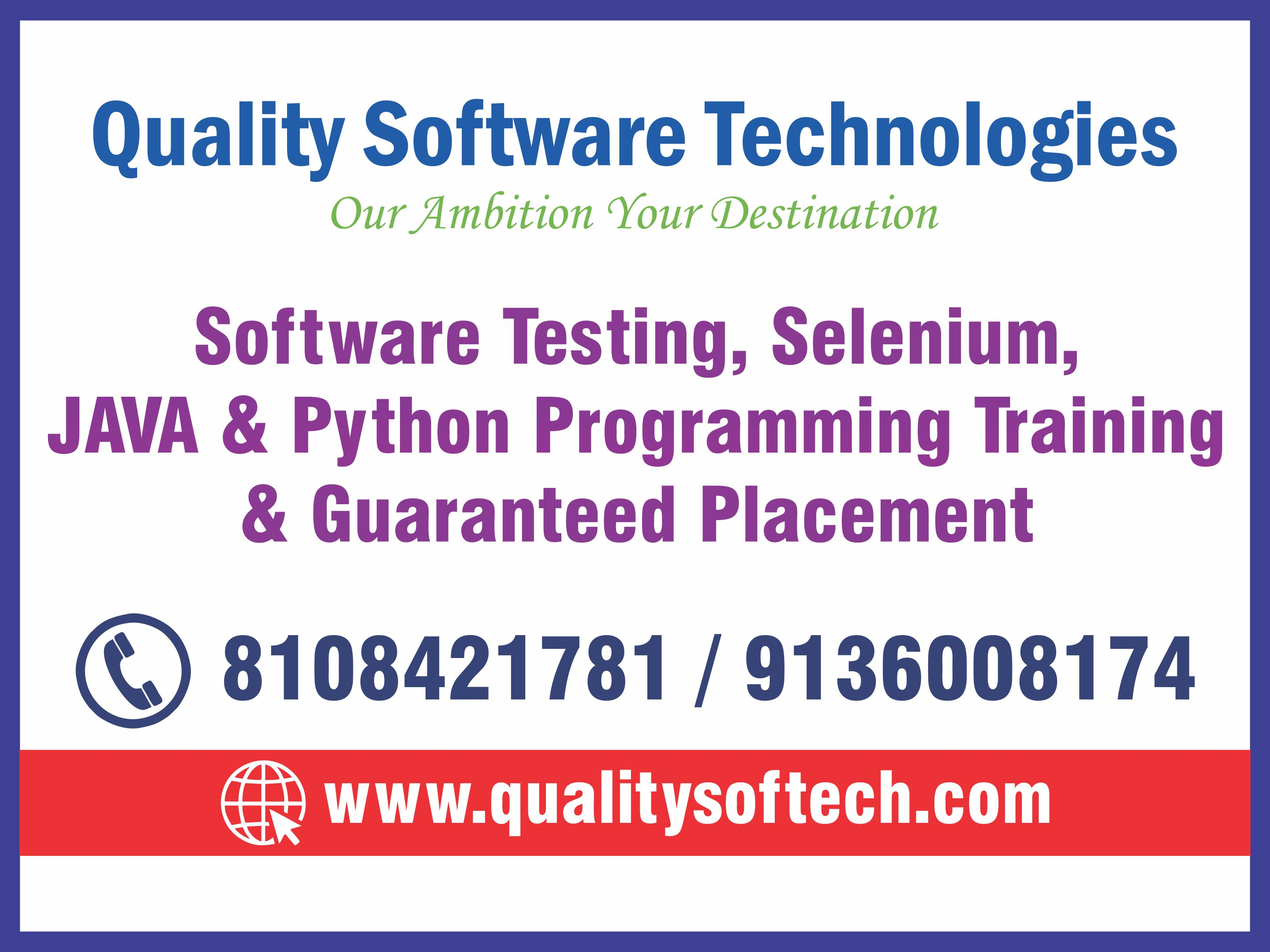 BEST PYTHON COURSES, TRAINING IN THANE – QUALITY SOFTWARE TECHNOLOGIES | free Classified | Free Advertising | free classified ads