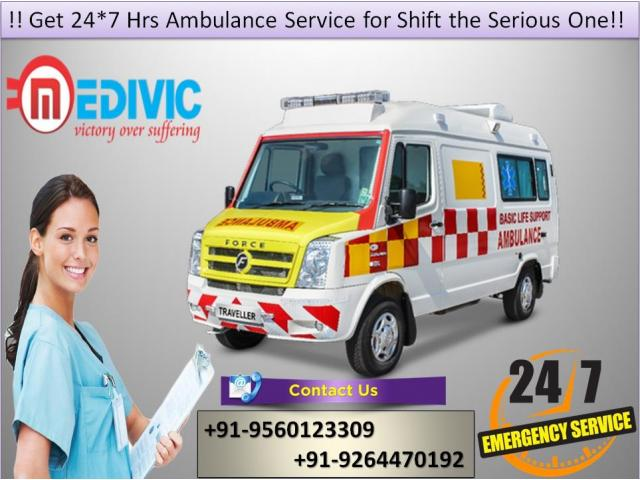 Instantly Hire at Low-Fare Road Ambulance Service in Karol Bagh by Medivic | free Classified | Free Advertising | free classified ads