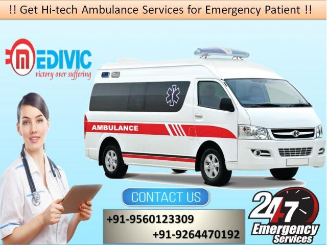 Book at Low-Cost Road Ambulance Service in Nehru Place by Medivic | free Classified | Free Advertising | free classified ads